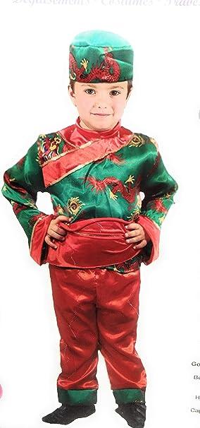 Atosa Disfraz Chino niño 3-4 Carnaval: Amazon.es: Juguetes y juegos