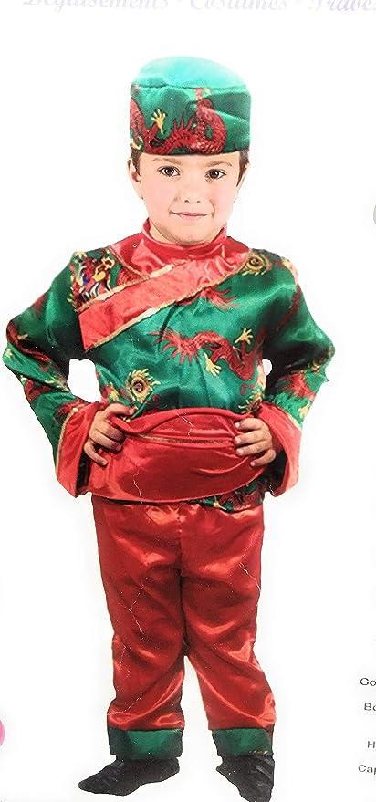 Atosa Disfraz Chino niño 10-12 Carnaval: Amazon.es: Juguetes y juegos