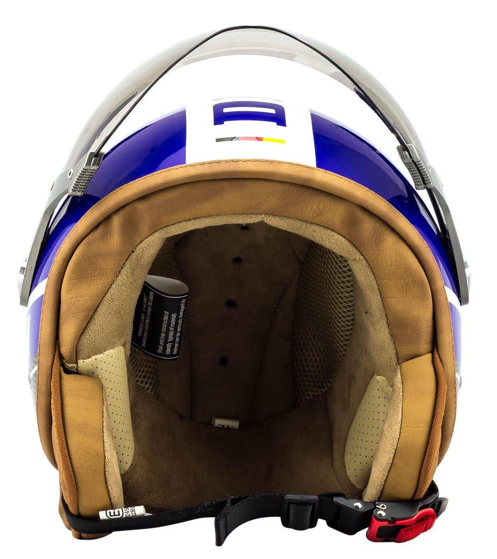 Stofftragetasche /· Schwarz Sonnenvisier /· inkl SOXON SP-325-PLUS Black /· Biker Vintage Helmet Retro Jet-Helm Cruiser Motorrad-Helm Bobber Roller-Helm Mofa Scooter-Helm Vespa-Helm Chopper Pilot /· ECE zertifiziert /· inkl