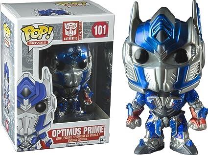 Buy Exclusive Barnes and Noble Optimus Prime METALLIC Funko POP