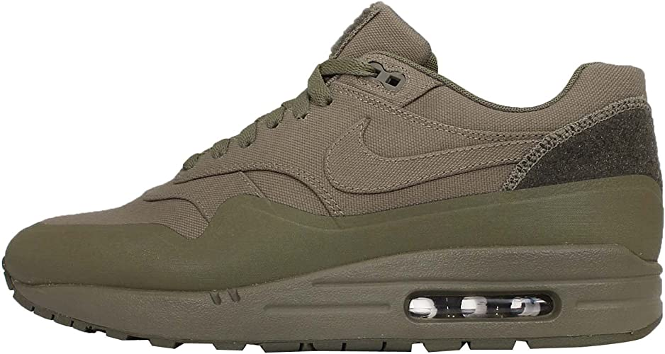 Nike Mens Air Max 1 Patch Steel Green