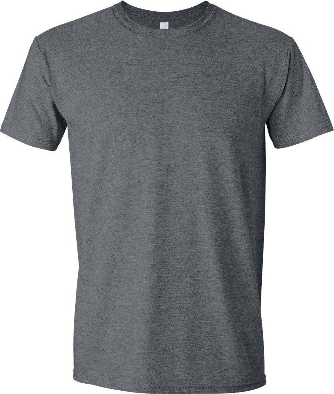 (ギルダン) Gildan メンズ ソフトスタイル 半袖Tシャツ トップス カットソー 男性用 B00AWW8CW4 L ダークへザー ダークへザー L