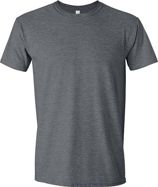 6ae7e445 Gildan G640 Men's Softstyle Short Sleeve T-Shirt: Amazon.ca ...