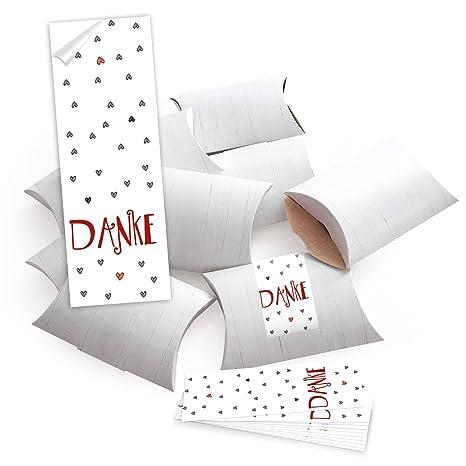 10 Blanco Pequeñas Cajas De Regalo regalo Cajas aspecto de madera 14,5 x 10