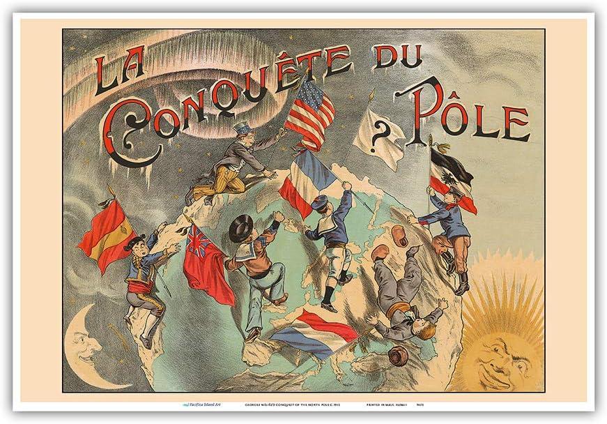 Pacifica Island Art - La Conquista del Polo Norte - Dirigida por ...