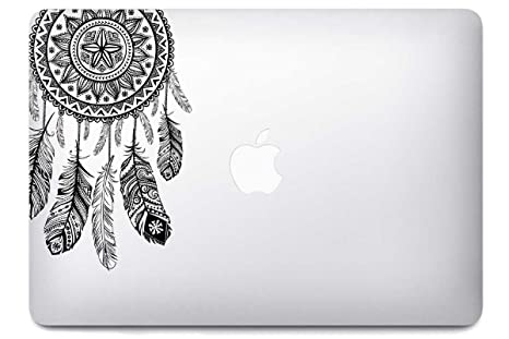 Atrapasueños Dreamcatcher par i-sticker: Stickers Pegatina Macbook pro Air decoración ordenador portátil Mac