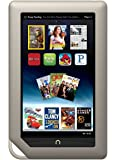 "Barnes & Noble Nook Tablet 8GB Touchscreen 7"" Google Play w/ Chrome Browser WiFi Tablet eBook Reader - Android - Dual-Core 1 GHz processor w/ Expandable Memory and Extra-long Battery Life BNTV250-8GB-GRY"