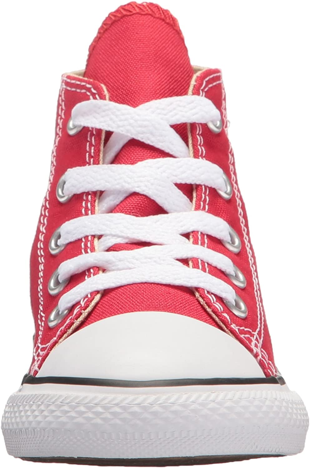 Converse Chuck Taylor All Star Core Hi, Baskets mode mixte enfant Rouge Red 600