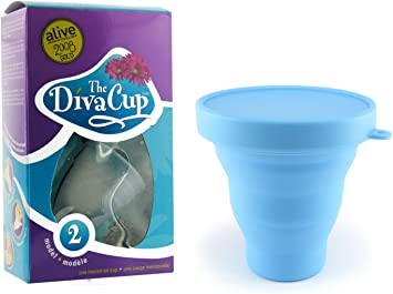 Diva Cup Model 2 - Copa menstrual para después del parto ...