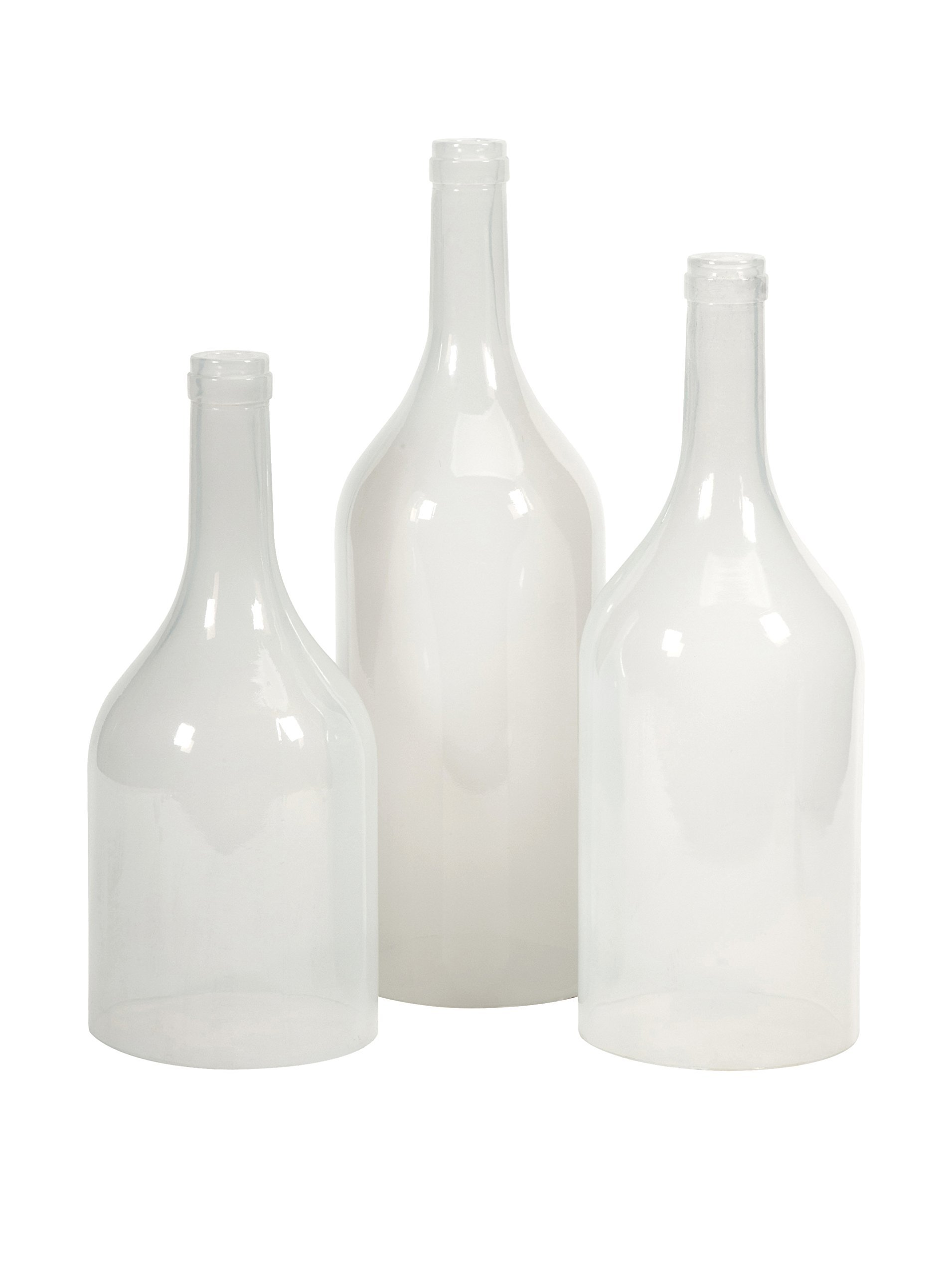 IMAX 97403-3 Monteith Cloche Bottles, Set of 3 by Imax
