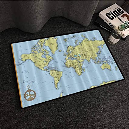 Amazon com : High School Classroom Decor Political World Map