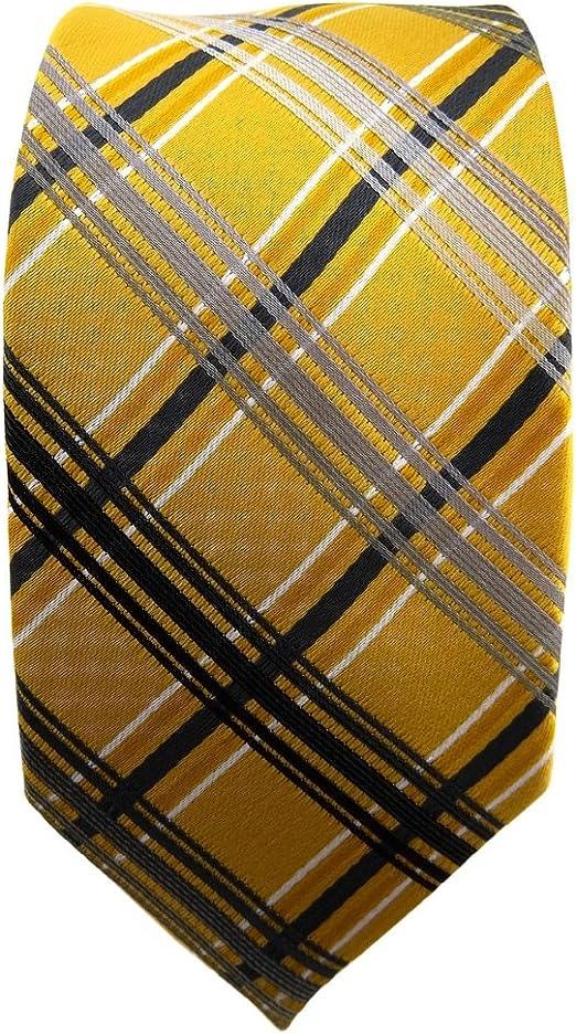 cravate laine wool TigerTie Designer laine cravate rouge vert bleu jaune cr/ème /à carreaux