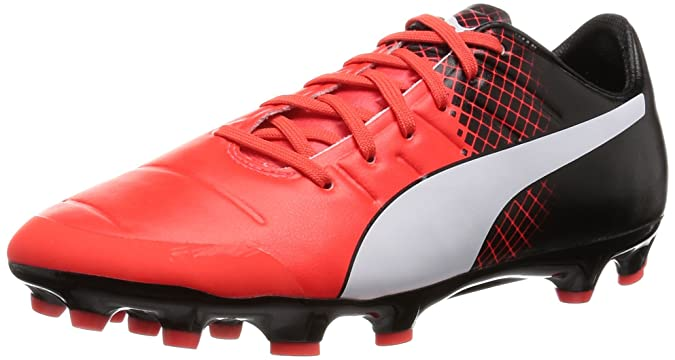 Puma Evopower 2.3 Tricks AG Scarpe da Calcio Uomo Rot Red Blast White