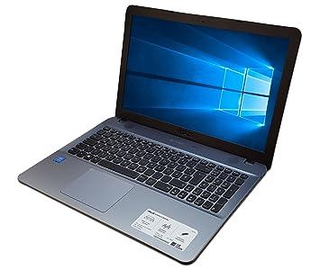 ASUS Notebook f540l Mi Intel i3 - Windows 10 - 8 GB RAM - 1TB HDD - Plata: Amazon.es: Informática