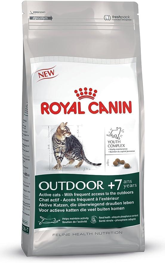 Royal Canin Comida para gatos Outdoor +7 400gr: Amazon.es ...