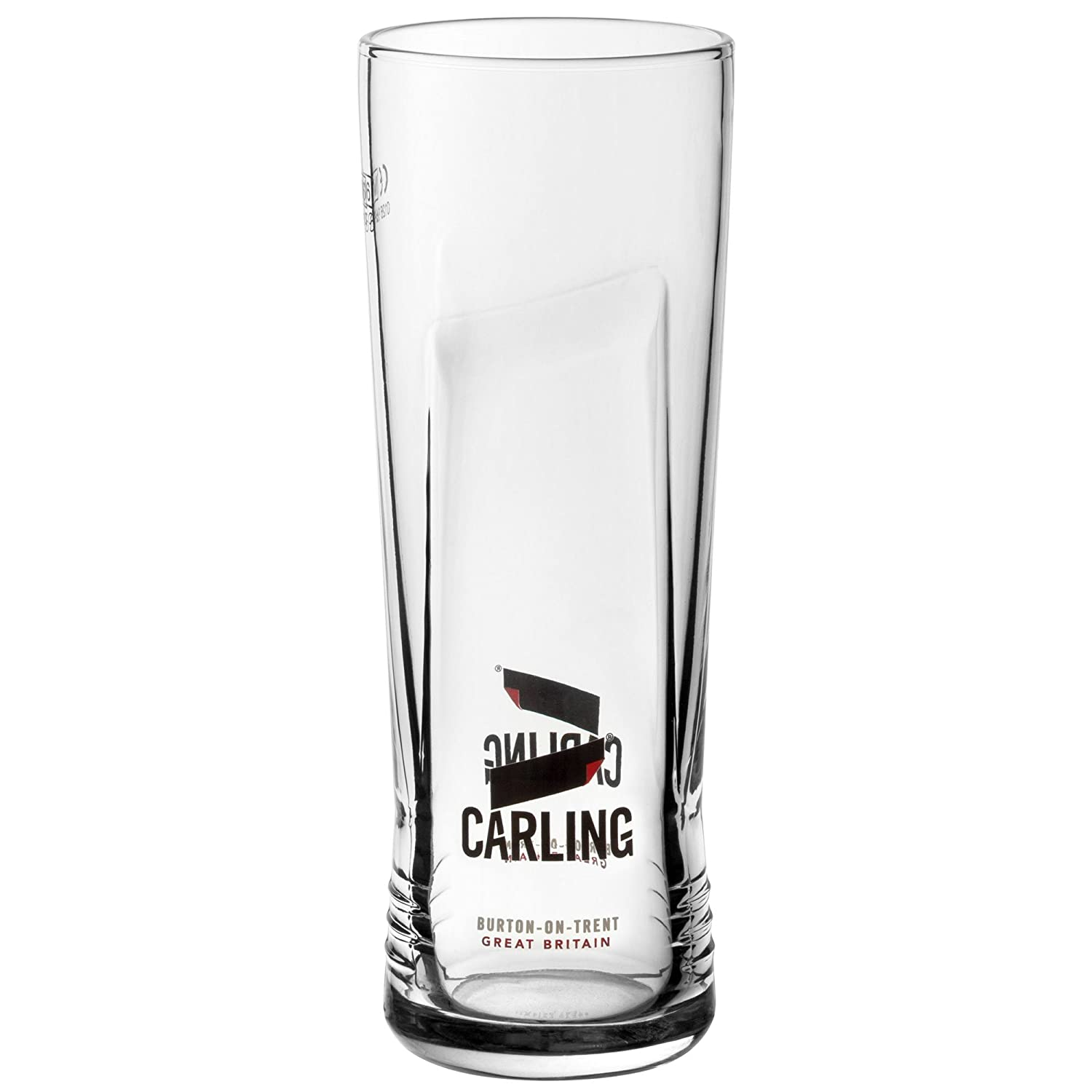 Carling Pint Glasses CE 20oz / 568ml - Case of 24 - Branded Carling Glasses, Carling Beer Glasses drinkstuff