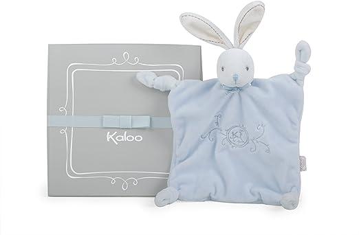 Kaloo - Colección Perle Doudou con nudos Conejito 20 cm, Azul ...