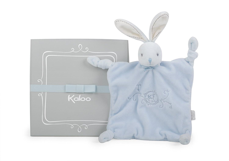 Kaloo Colección Perle Doudou con nudos Conejito 20 cm, Azul (K962162): Amazon.es: Juguetes y juegos
