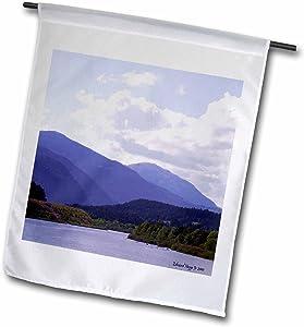 3dRose fl_17353_1 Smoky Mountain Range Garden Flag, 12 by 18-Inch