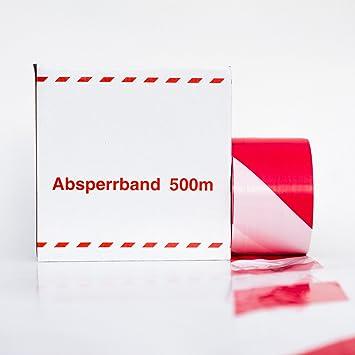 Turbo 500 m BAUSTELLEN-ABSPERRBAND ROT / WEISS: Amazon.de: Baumarkt AV88
