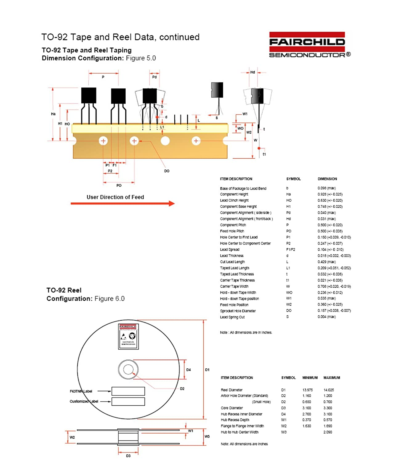 FAIRCHILD SEMICONDUCTOR BS170_D26Z N CHANNEL MOSFET, 60V