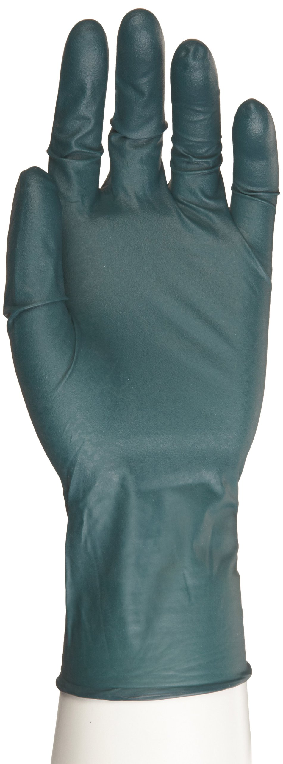 Microflex Dura Flock Nitrile Glove, Powder Free, 10.6'' Length, 8 mils Thick, X-Large (Pack of 500)