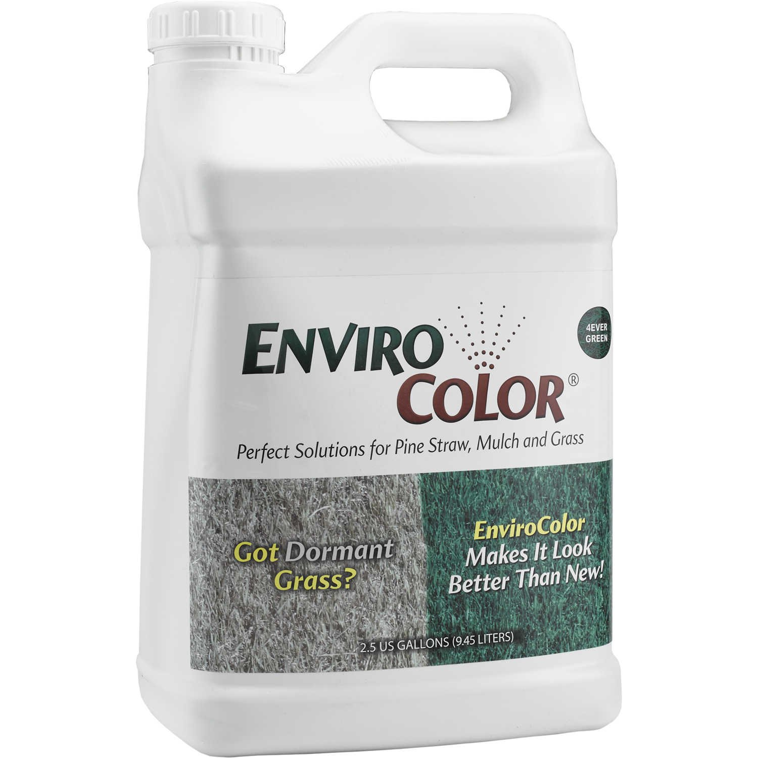 10,000 Sq. Ft 4Ever Green Grass and Turf Paint - Have a green lawn all winter long! by EnviroColor