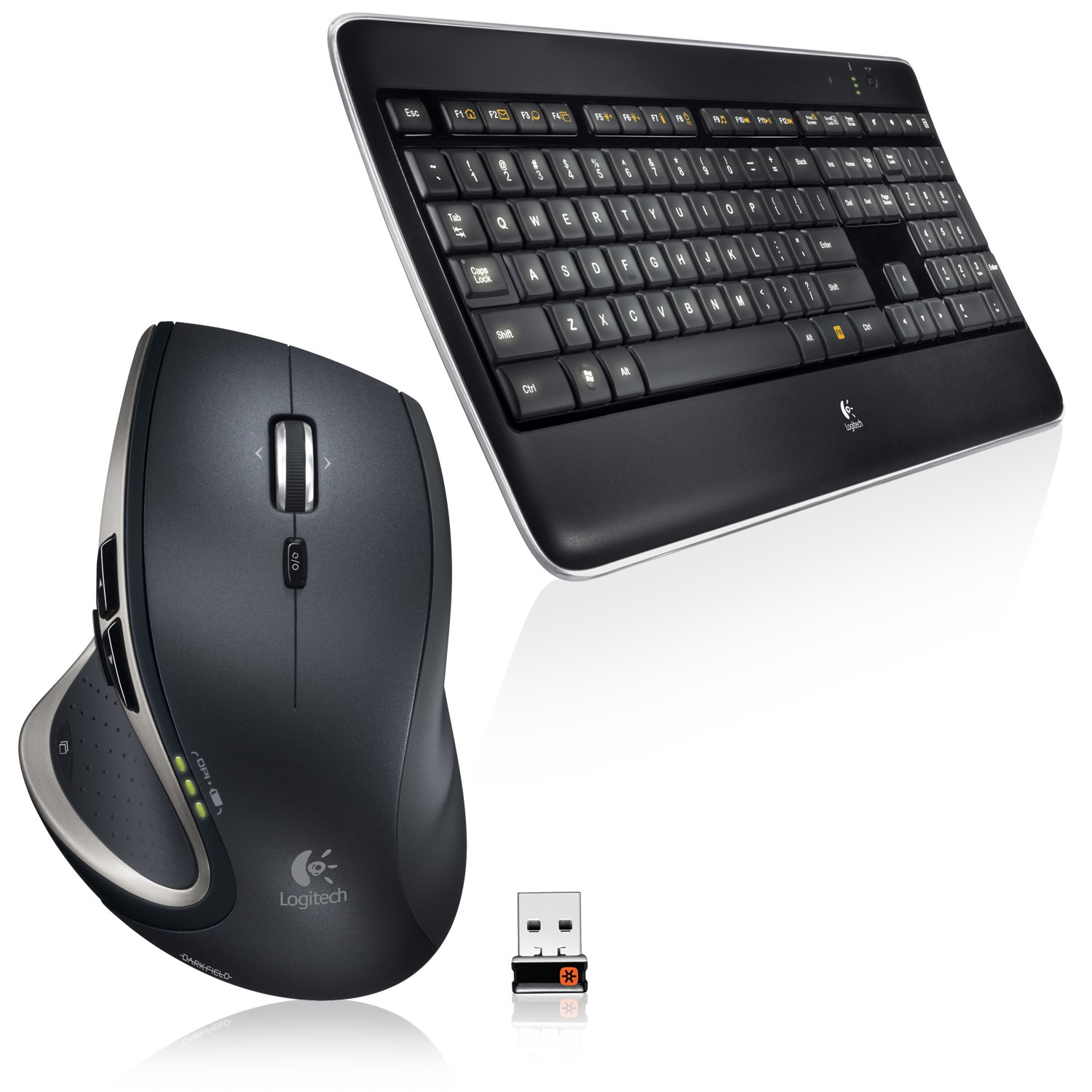 Logitech Performance Combo Mx800 Illuminated Wireless Keyboard/Mouse 1-Pack 6