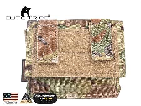 Accesorios de Caza Elite Tribe MK2 Funda de bater/ía para Casco t/áctico Bolsa de Noche para Casco