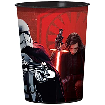 "amscan Star Wars Episode 8"" Cup, Party Favor One Size, Multicolor 420115: Toys & Games"