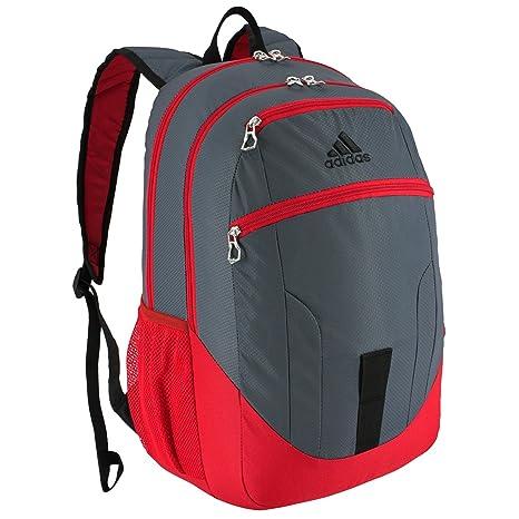 Adidas Base Mochila - 104640, Negro, Escarlata, (Deepest Space/Scarlet/