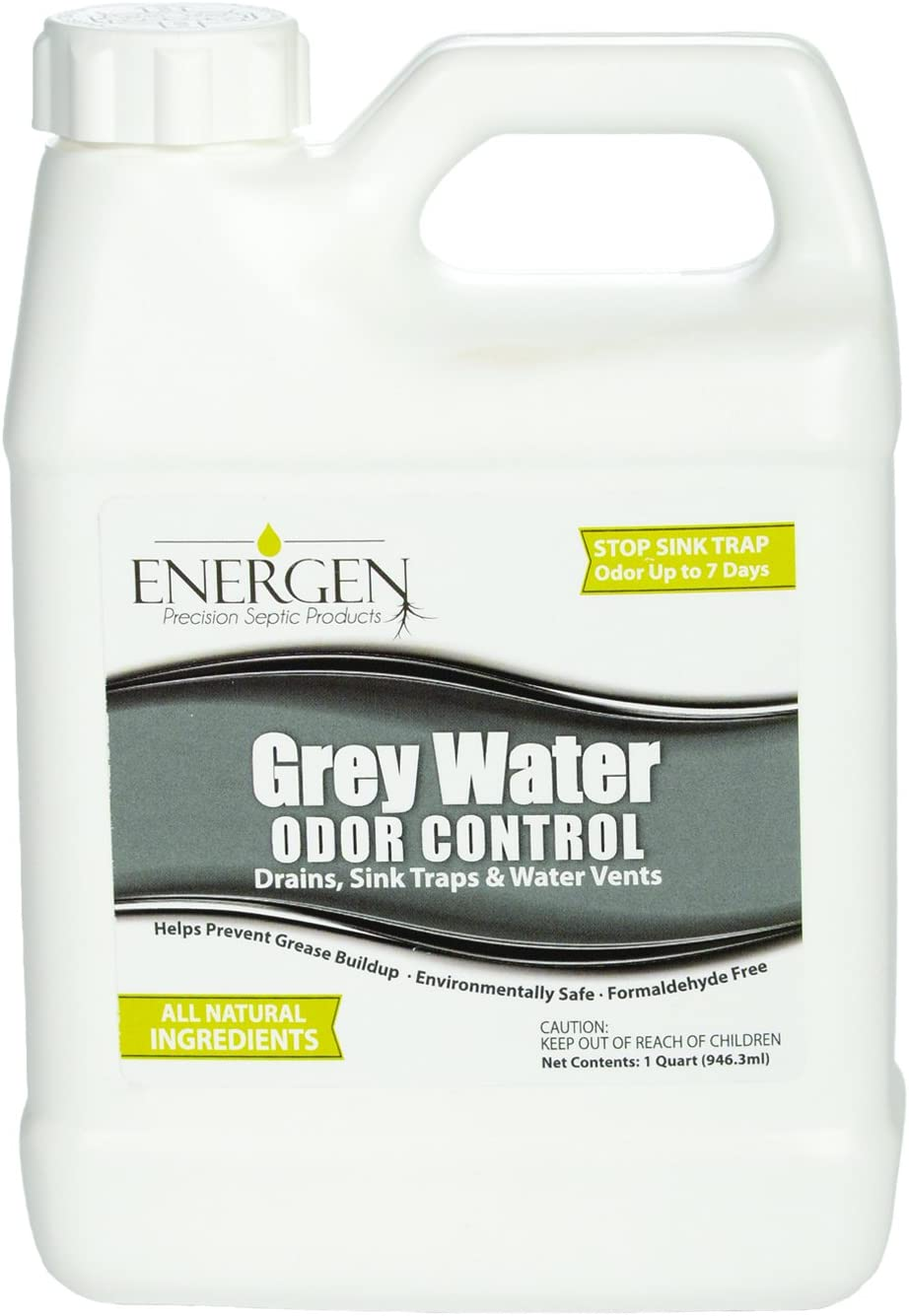 Energen Grey Water Tank Treatment RV Water Tank Deodorizer