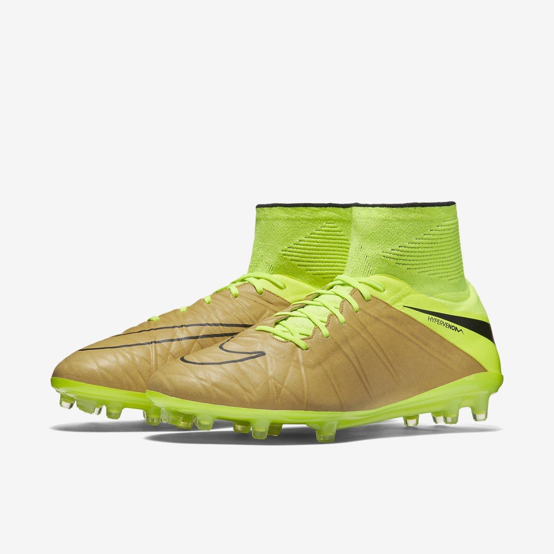 a851416826fc Amazon.com | Nike Hypervenom Phantom II Tech Craft FG-Canvas/Volt/Black |  Soccer