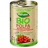 Valfrutta BIO Organic Italian Tinned Chopped Tomatoes in Tomato Juice 12 x 400g
