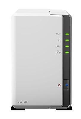 Synology 2 Bay NAS DiskStation DS218j