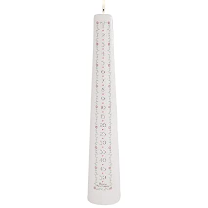Celebration Candles Wedding Unity 15 Inch 1 To 50 Year Numbered Countdown Anniversary Candle