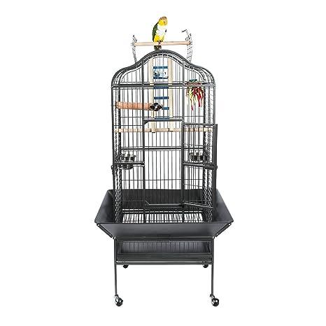 animalmarketonline jaula jaula pájaro Riparo Pájaros calopsite ...