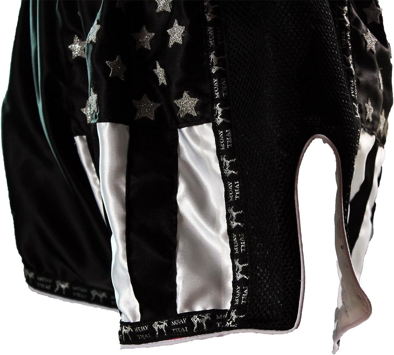 Pride or Die Muay Thai Pantalones cortos de boxeo tailand/és Z-Camp para hombre con tejido de malla de aire
