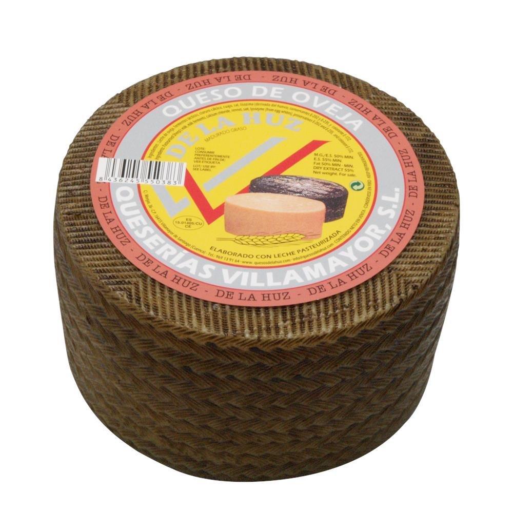 De La Huz Queso de Oveja Semicurado Grande - 3300 gr: Amazon.es: Alimentación y bebidas