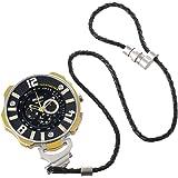 Welder by U-boat K41 Oversized Pocket Watch Chronograph Steel Mens Yellow/Gold K41-102