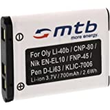 Batería NP-45 para FujiFilm FinePix XP50, XP60, Z10fd, Z20fd, Z30, Z31, Z33WP.... (ver la descripción)