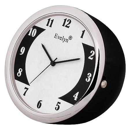 Evelyn Analog Table Clock & Car Dashboard Time Clock Quartz Watch Size 45mm EVT-21