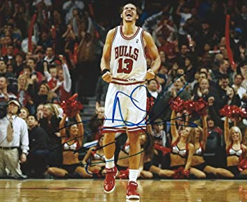 cb22b3d44 Signed 8x10 Joakim Noah Chicago Bulls Photo Coa - Authentic Autograph