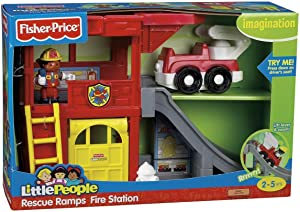 Fisher Price Rescue Ramps Fire Station