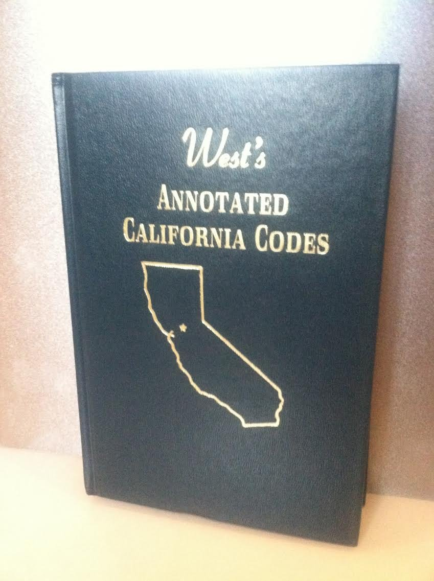Read Online West's Annotated California Codes (Public Resources) Sections 1 to 6474 - Books 55-55E pdf epub