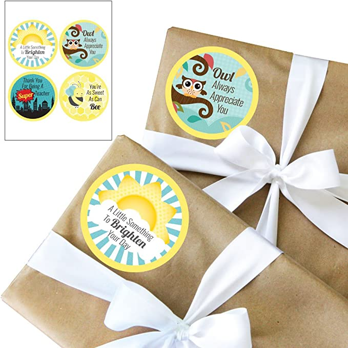 Hey You Packaging Stickers I Hope This Package Brightens Your Day Stickers