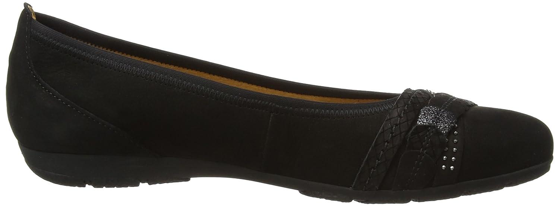 d889d5a64fb57 Gabor Ashmill, Women's Ballet Flats, Black (Black Nubuck), 9 UK (43 EU):  Amazon.co.uk: Shoes & Bags