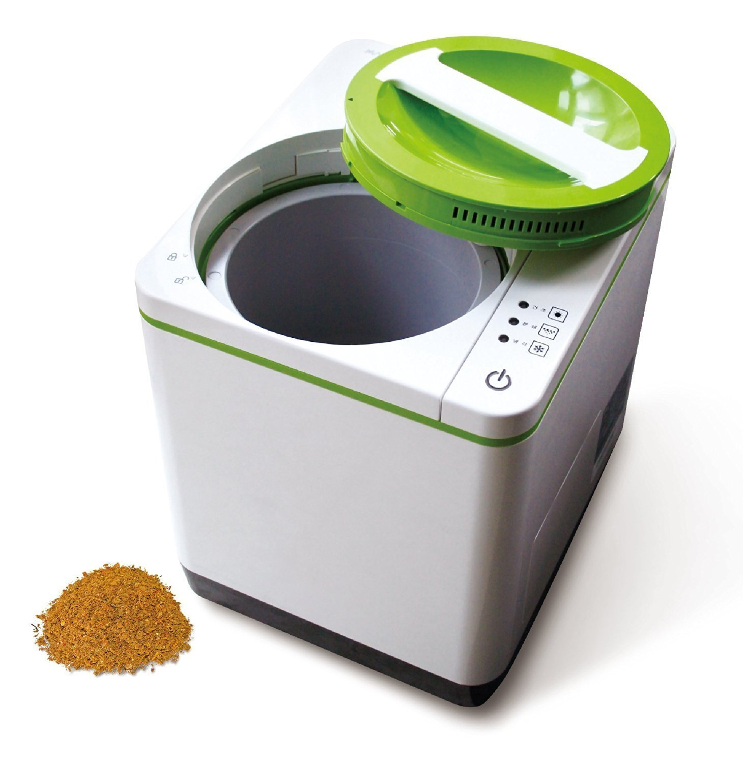 Food Cycler Indoor Kitchen Compost Container - Easy to Use and Environmentally Friendly Food Composter with No Water, Chemicals, Venting or Draining Required