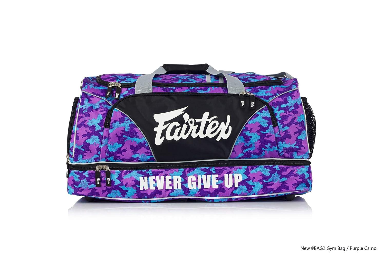 Bolsa para gimnasio Fairtex Muay Thai purpura
