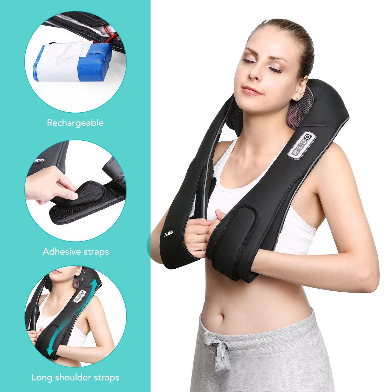 Schlussverkauf Das Original Nackenmassagegerät Donnerberg® Massagegerät Schulter Nacken Rücken Einen Effekt In Richtung Klare Sicht Erzeugen Elektrische Massagegeräte
